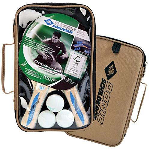 Amazon - Donic-Schildkröt Tischtennis Set Blau Series 400 Im Carrybag 2x Schläger und 3 Bälle, natur, 788657 12,99 Euro