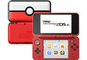New Nintendo 2DS XL Poké Ball Edition für 99€