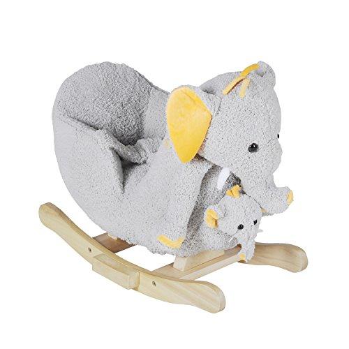 Schaukel-Elefant Nele mit Sound inkl. Handpuppe