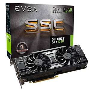 EVGA GeForce GTX 1060 SSC Gaming ACX 3.0 (6GB GDDR5, DVI, HDMI, 3x DisplayPort)