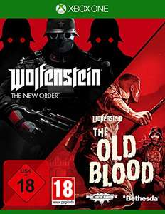 [amazon.de] Wolfenstein: Double Pack - The new Order + The old Blood (Xbox One/PS4)