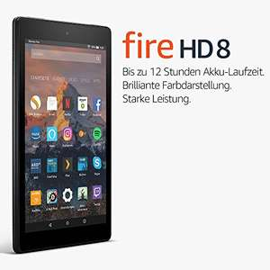 AMAZON FIRE 7/8 Tablet für 40€/70€   ( -27% bzw -22%  )