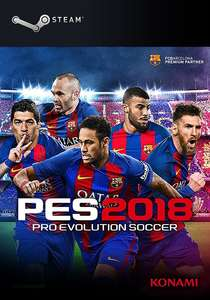 PES - Pro Evolution Soccer 2018 Steam Key (Bestpreis)