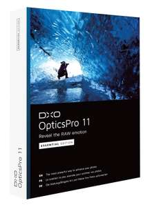[DxO] OpticsPro 11 Essential (Windows und Mac) kostenlos