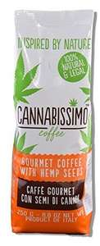 [wwww.AMAZON.de]  HANF KAFFEE - Cannabissimo 24x Beutel je 250g  für Prime Kunden € 8,--