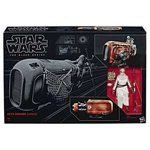 [Amazon.de] Hasbro Star Wars Black Series Rey & Speeder für rd. €64,- VSK-Frei