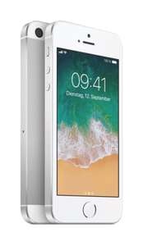 Apple iPhone SE (32 GB, silber)