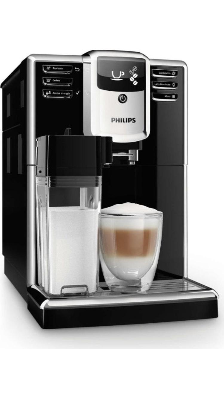 Philips 5000 Serie EP5360/10 Kaffeevollautomat (integrierte Milchkaraffe) schwarz (AMAZON.de)