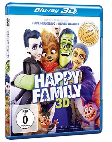 Happy Family [3D Blu-ray] für 12,97€