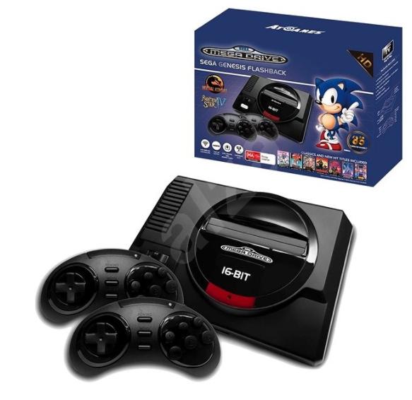 [Amazon.fr] Sega MegaDrive Mini Flashback HD inkl. 82 Spielen für 68,61€