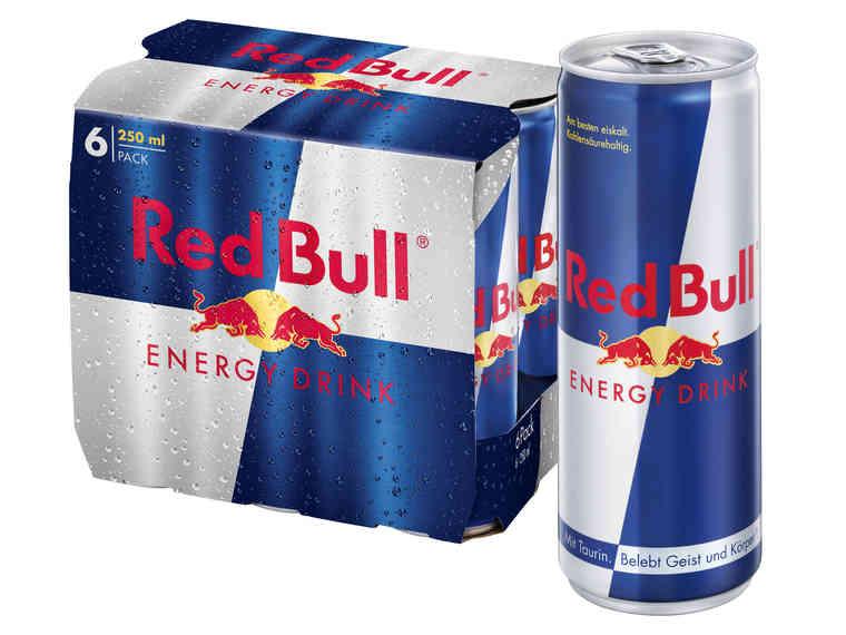 LIDL RED BULL Energydrink pro Dose im 6er Pack am Fr 30.3. + Sa 31.3.