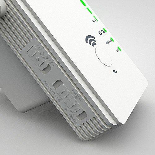 (Amazon.de) 2,4 GHz Repeater bis 300 MBit/s mit 2 LAN Anschlüssen für 21,99 statt 24,99