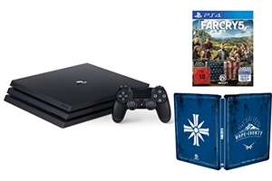 PlayStation 4 Pro Konsole (1TB, B-Chassis) + Far Cry 5 - Steelbook Edition um 380,17€