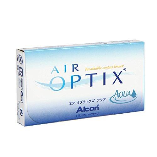 Air Optix Aqua Monatslinsen weich, 6 Stück / BC 8.6 mm / DIA 14.2 / -1,00 Dioptrien