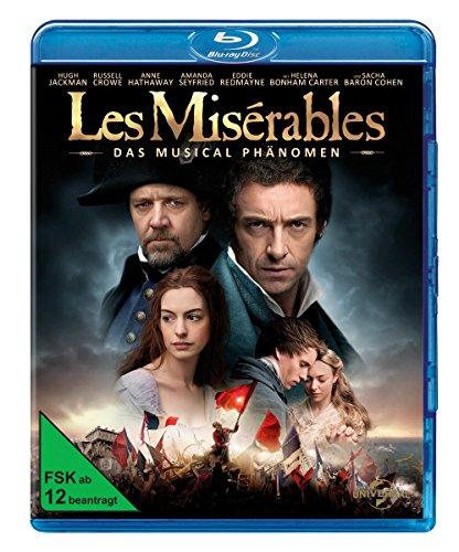 Les Miserables (Blu-ray) für 6,99€