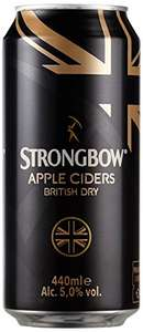 Amazon Tagesangebot Strongbow British Dry Cider 24 x 0,44 l nur 21,99