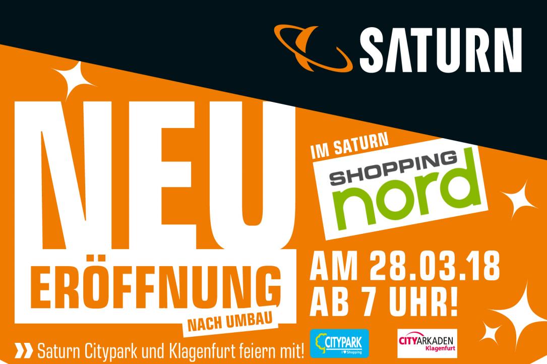 Saturn Shopping Nord Neueröffnung