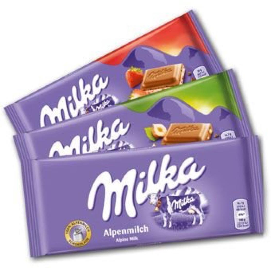 Milka für 75 Cent