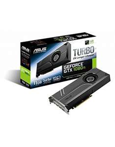 Asus Turbo GeForce GTX1080TI 833 € / KFA2 GeForce GTX 1080 OC 600 €