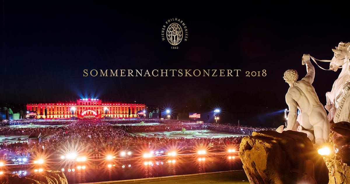 Open-Air Sommernachtskonzert - kostenloser Eintritt 31. Mai 2018