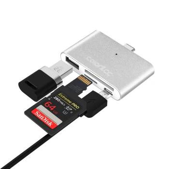 Dresslily 4-in-1 OTG Smart Reader USB-Typ-C-HUB TF Connection Kit 3,38 €