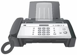 Günstiges Faxgerät HP Fax 650 für 24€ + 4x Gratisartikel bei Druckerzubehör