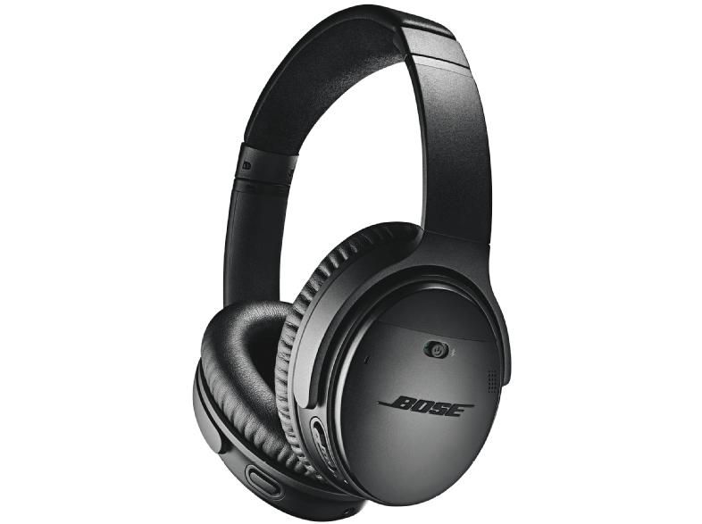 BOSE Bluetooth Kopfhörer QuietComfort 35II wireless mit Acoustic Noise Cancelling, schwarz