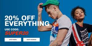 Superdry Online Store aktuell -20%