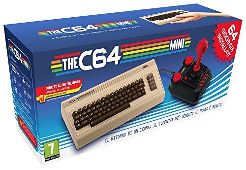 C64 Mini bereits zu haben ...