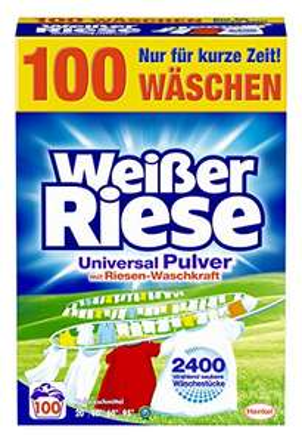 (Prime) Weißer Riese Universal Pulver Waschmittel (100 WL)