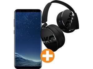 samsung galaxy s8 midnight black inkl akg y50 bluetooth. Black Bedroom Furniture Sets. Home Design Ideas