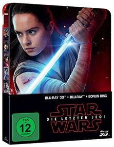 Star Wars Episode 8: Die Letzten Jedi - 3D Steelbook für 21,93€