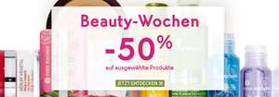 Yves Rocher 50% auf fast alles + Kostenloser Versand ab €30,--