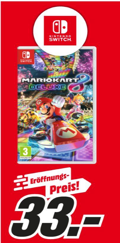 [Regional Mediamarkt Lugner City ab 12.04] Mario Kart 8 Deluxe [Nintendo Switch] um 33,-€