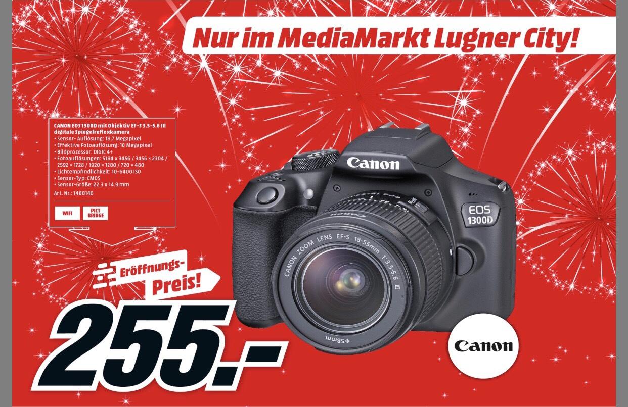 [Lokal LugnerCity] Canon EOS 1300d