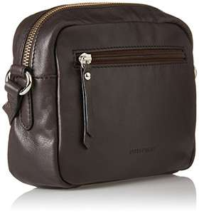 Gerry Weber Damen Andalucia Shoulderbag Shz Schultertasche, Braun (Dark Brown), 6x14,5x20 cm