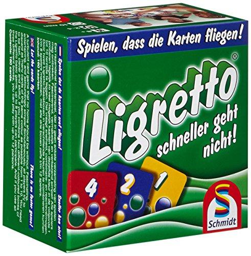 Ligretto (grün, blau und rot) Action Kartenspiel