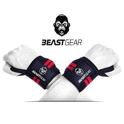 Amazon.de: Beast Gear Handgelenkbandage für Sport, Fitness & Bodybuilding um 0,97€ statt 9,97€