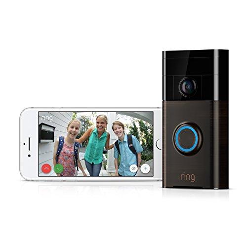 """""""Ring"""" - Video-Türklingel mit Smartphone-Anbindung (alle Farben!)"""