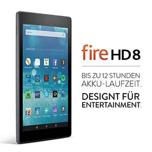 Fire HD 8-Tablet, 20,3 cm (8 Zoll) HD Display, WLAN, 16 GB (Schwarz)