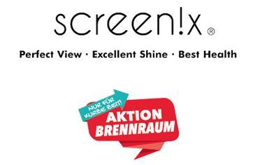 Screen!x Aktion - 3 Reinigungstücher als kostenlose Mustersendung