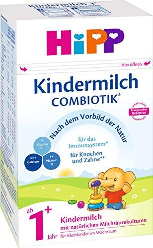 Voll HiPP - 4x Kindermilch ComBiotik Bio (ab 1+ Jahr)