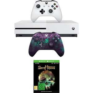 [universal.at] Xbox One S 1TB + Sea of Thieves + 2. Controller (Sea of Thieves Limited Edition)