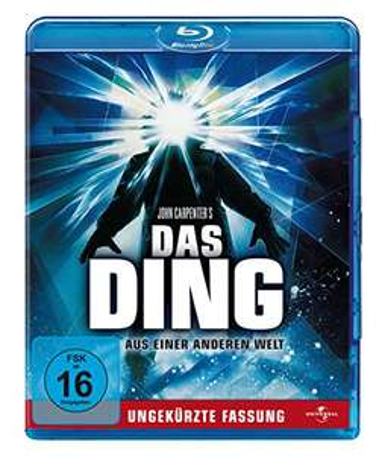 [Amazon] Das Ding aus einer anderen Welt - Ungekürzte Fassung Blu-ray + 1 € Amazon Video Gutschein für 5,03 € statt 12,99 €