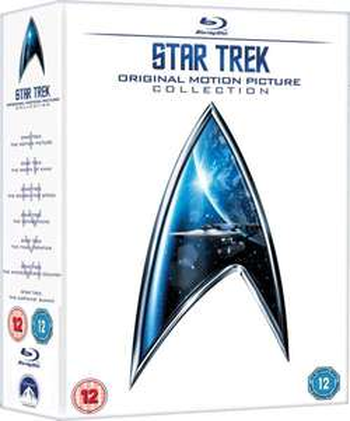 [Zavvi] Star Trek 1-6 Original Motion Picture Collection Blu-ray für 23,74 €
