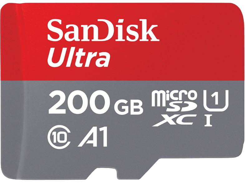 SANDISK Ultra UHS-I Micro-SDXC 200 GB für 49 EUR inkl. Versand