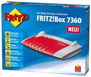 AVM FRITZ!Box 7360 für 33,90 EUR inkl. Versand [B-Ware]