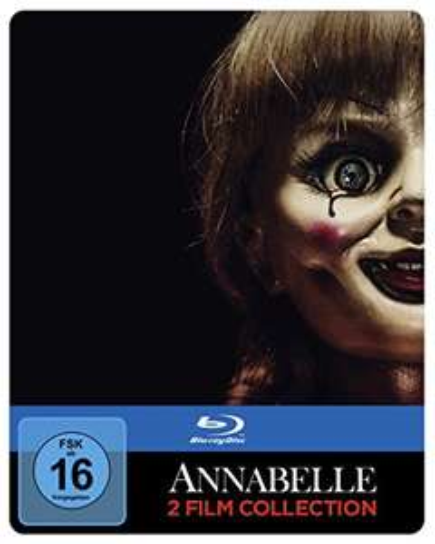 Annabelle 1+2 Bluray Steelbook um 13,97 statt 22,87(einzeln)