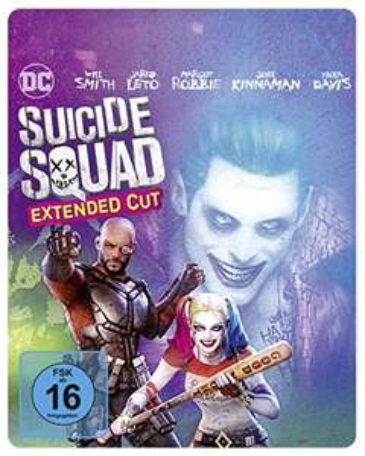 Suicide Squad als Steelbook mit Extended Cut und Illustrated Artwork [Blu-ray] um 7,97