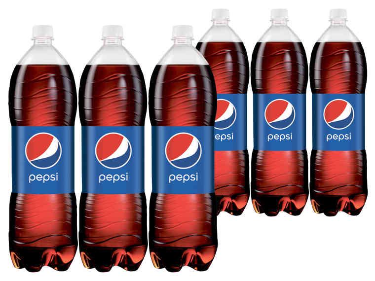 LIDL PEPSI Cola in der 2 Liter ! Flasche ab 6Stk. am Sa 21.4.